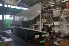 MSA 24.7 T in opbouw