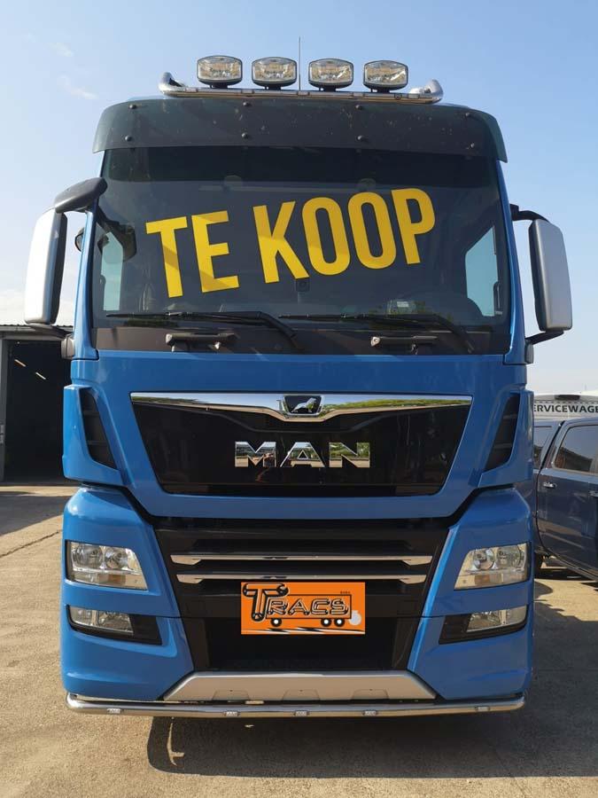 Te Koop: MAN TGX met PTO vrachtwagen