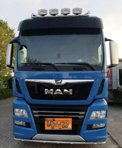 MAN TGX met PTO vrachtwagen